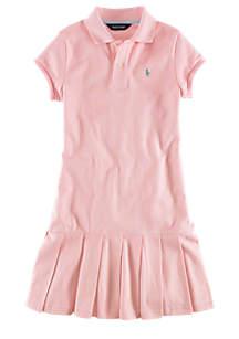Polo Dress - Toddler Girl