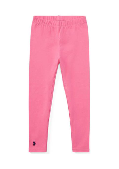 Ralph Lauren Childrenswear Stretch Cotton Legging Toddler Girls