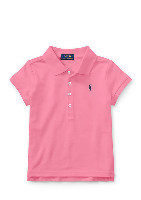 Ralph Lauren Childrenswear Cotton Mesh Short-Sleeve Polo Toddler
