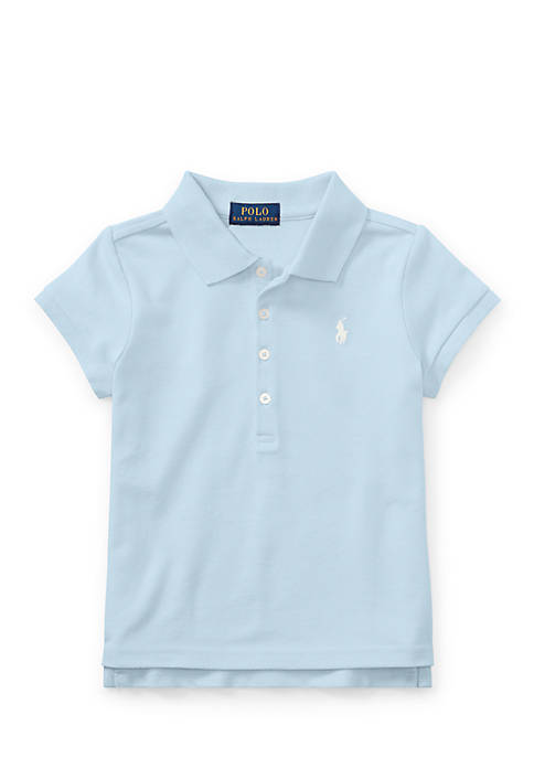 Ralph Lauren Childrenswear Cotton Mesh Short-Sleeve Polo Toddler