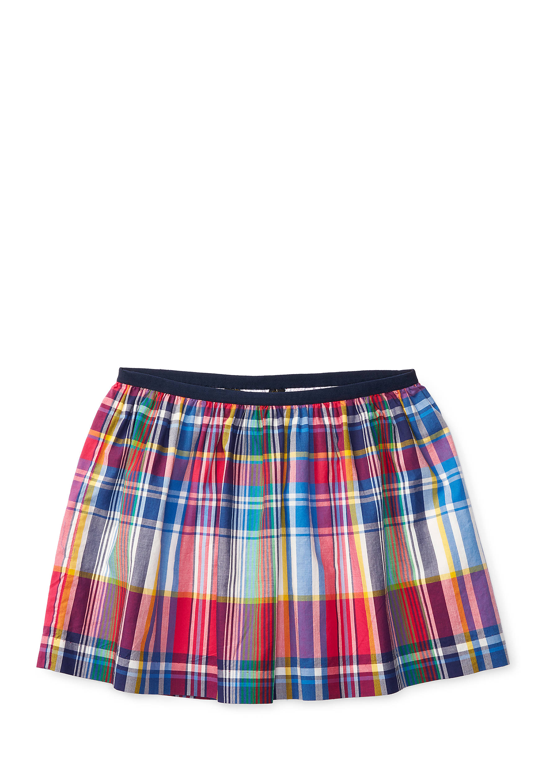 Ralph Lauren Childrenswear Plaid Poplin Pull-On Skirt Toddler Girl.  4100330311631128001. Images