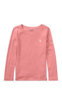 Toddler Girls Cotton-Blend T-Shirt