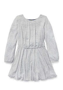 Toddler Girls Jersey Fit-and-Flare Dress