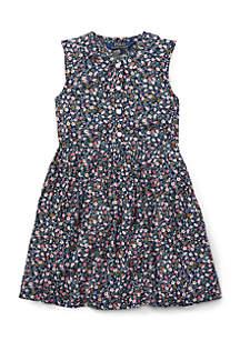 Toddler Girls Floral Shift Dress