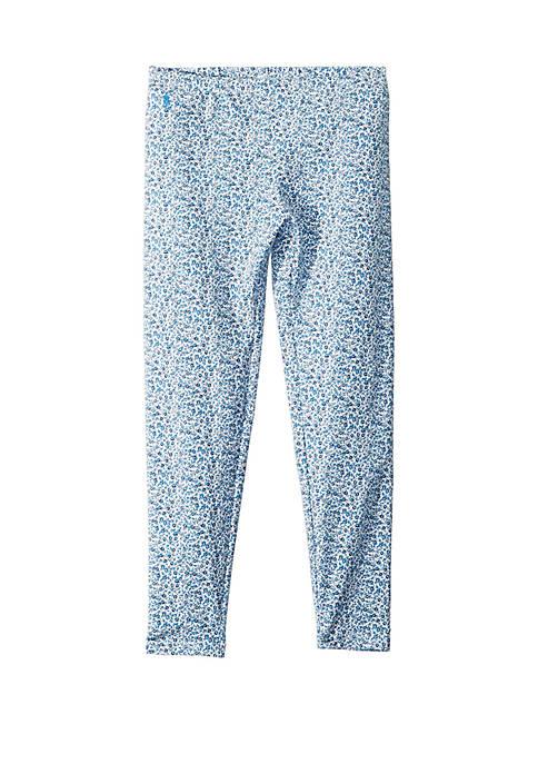 Ralph Lauren Childrenswear Toddler Girls Floral Jersey Legging