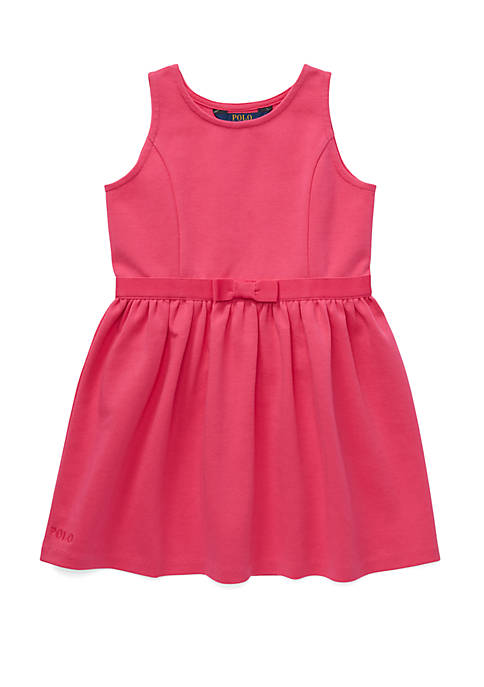 Toddler Girls Ponte Sleeveless Dress
