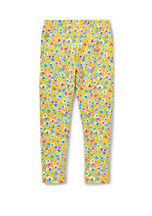 Ralph Lauren Childrenswear Toddler Girls Floral Jersey Leggings