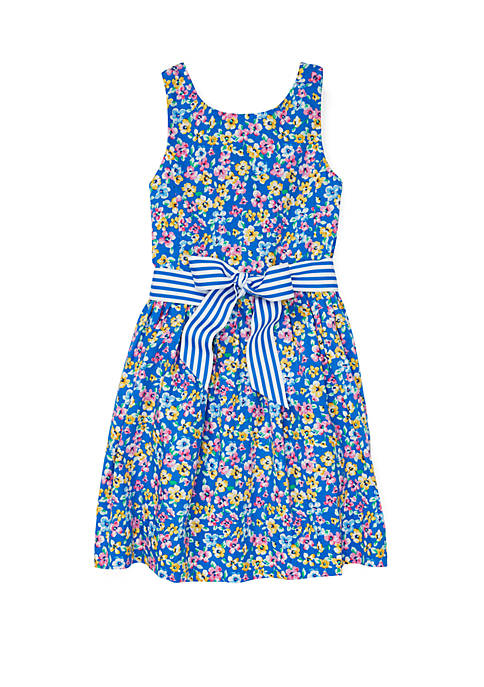 Ralph Lauren Childrenswear Toddler Girls Floral Fit and