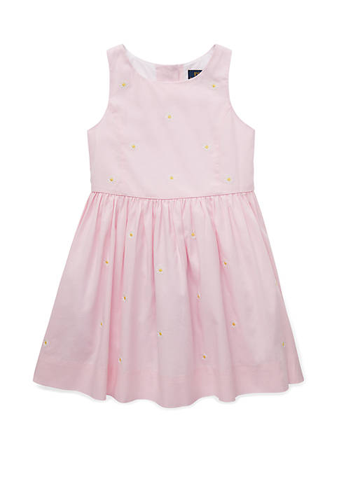 Toddler Girls Daisy Fit and Flare Dress
