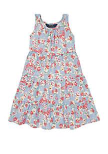 5d8ee37c7b5f ... Ralph Lauren Childrenswear Toddler Girls Floral Cotton Jersey Dress