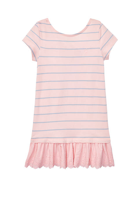 Ralph Lauren Childrenswear Toddler Girls Cotton Jersey Tee