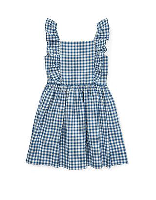 7ac082620 Ralph Lauren Childrenswear Toddler Girls Ruffled Gingham Cotton Dress ...