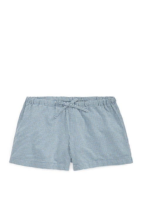 Ralph Lauren Childrenswear Toddler Girls Gingham Cotton Poplin