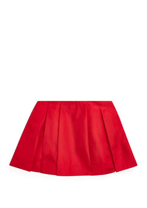 Toddler Girls Pleated A Line Skirt