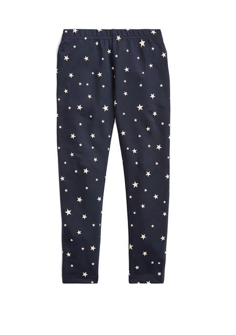 Ralph Lauren Childrenswear Toddler Girls Star-Print Stretch