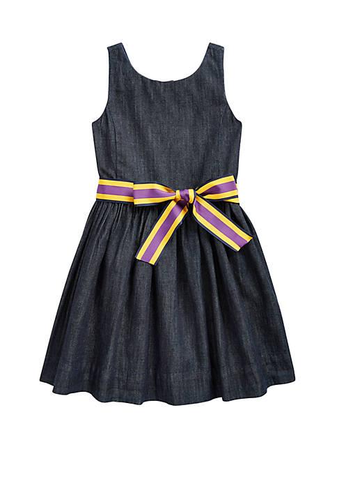 Ralph Lauren Childrenswear Toddler Girls Cotton Twill Fit
