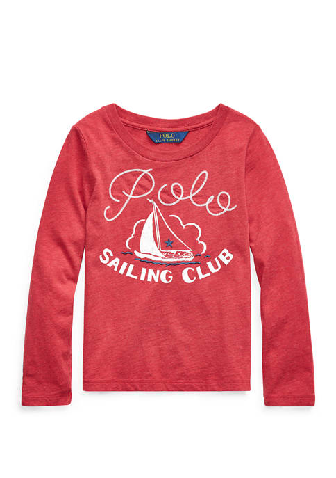 Ralph Lauren Childrenswear Toddler Girls Sailing Club Cotton