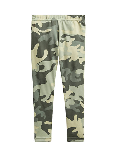 Ralph Lauren Childrenswear Toddler Girls Camo Stretch Cotton