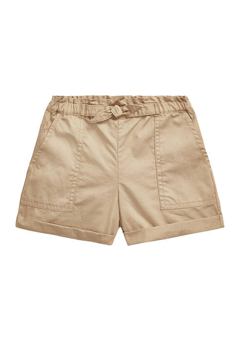 Ralph Lauren Childrenswear Toddler Girls Cotton Twill Camp