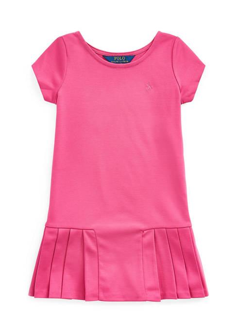 Ralph Lauren Childrenswear Toddler Girls Pleated Skirt T-Shirt