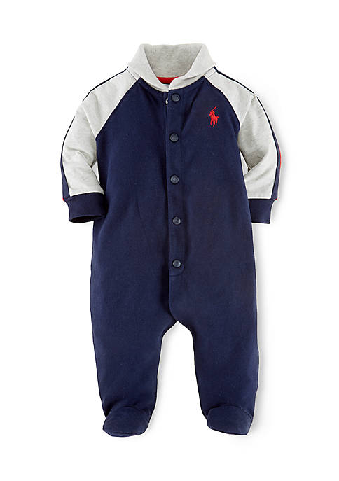 Rugby Shawl Collar Coverall