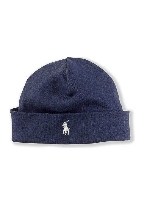 Ralph Lauren Childrenswear Cotton Interlock Hat