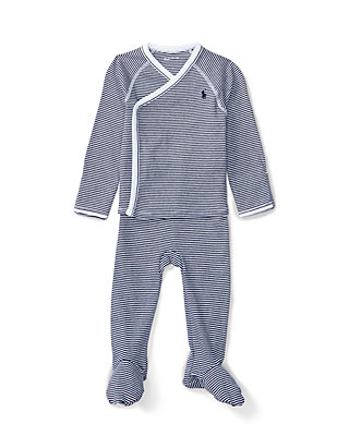 d0b82806 Cotton Kimono Top & Pant Set Baby Boys