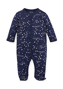Infant Boys Constellation Cotton Coverall