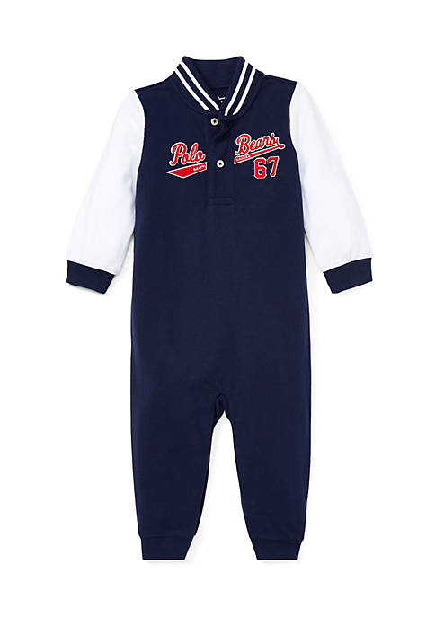 Ralph Lauren Childrenswear Infant Boys Cotton Mesh Baseball