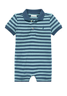 Baby Boys Featherweight Mesh Shortall