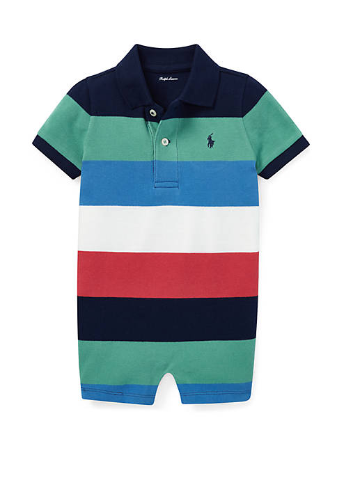 Ralph Lauren Childrenswear Baby Boys Cotton Mesh Polo