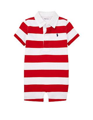 c048cf81d Ralph Lauren Childrenswear. Ralph Lauren Childrenswear Baby Boys Striped  Cotton Rugby Shortall