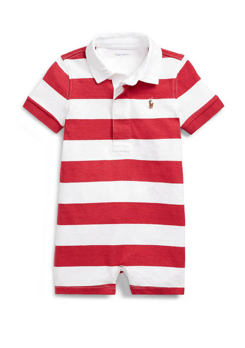 Ralph Lauren Childrenswear Baby Boys Striped Cotton Rugby
