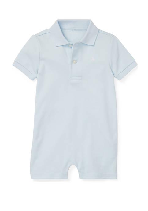 Ralph Lauren Childrenswear Baby Boys Cotton Interlock Polo