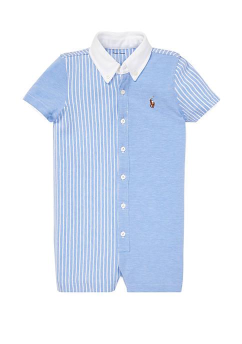 Ralph Lauren Childrenswear Baby Boys Knit Oxford Fun