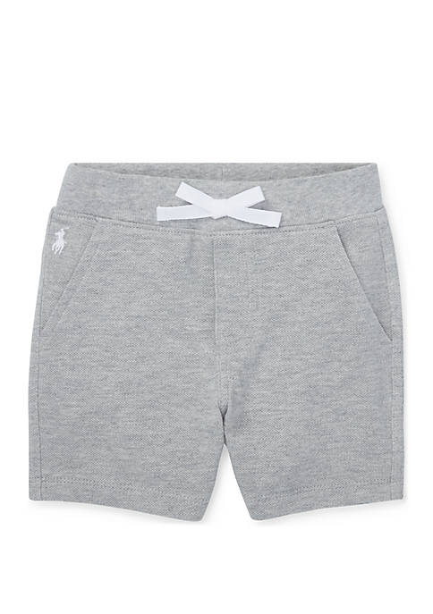 Baby Boys Cotton Mesh Pull-On Short