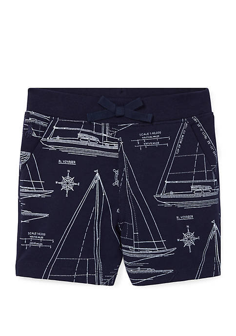 Ralph Lauren Childrenswear Baby Boys Sailboat-Print Cotton