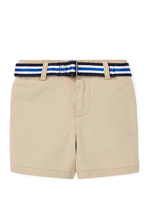 Ralph Lauren Childrenswear Baby Boys Belted Stretch Chino