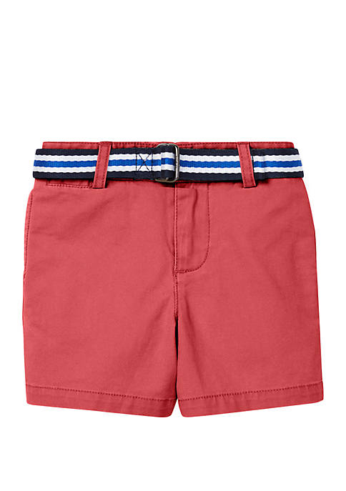 Ralph Lauren Childrenswear Baby Boys Belted Stretch Chino