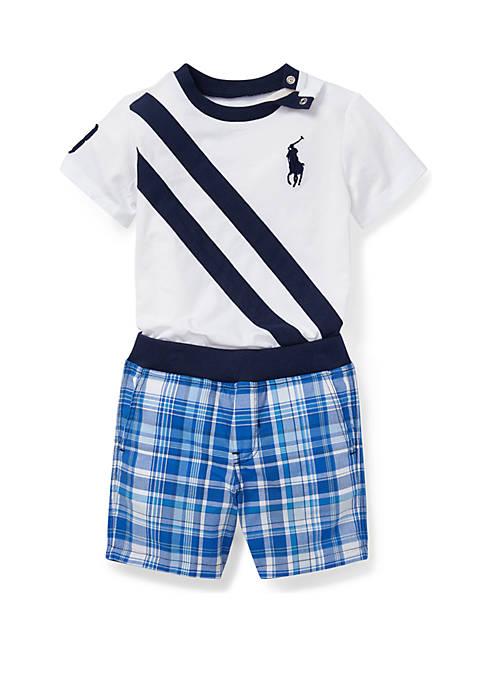 Ralph Lauren Childrenswear Baby Boys Tee and Reversible