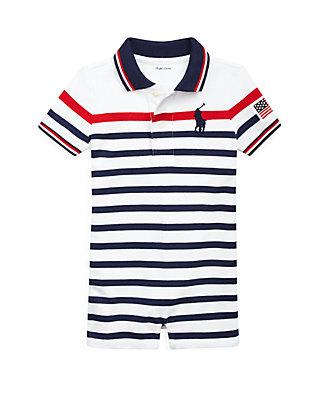 405145b31 Ralph Lauren Childrenswear. Ralph Lauren Childrenswear Baby Boys Striped  Cotton Polo Shortall