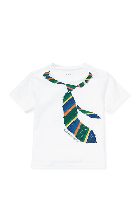 Baby Boys Cotton Jersey Graphic Tee