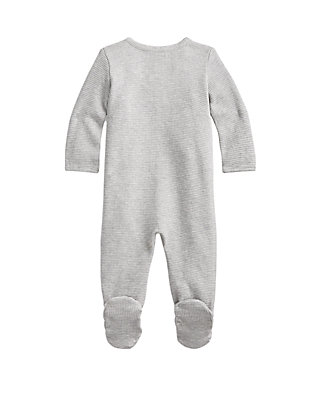 50e71d00fc Baby Boys Waffle-Knit Cotton Coverall