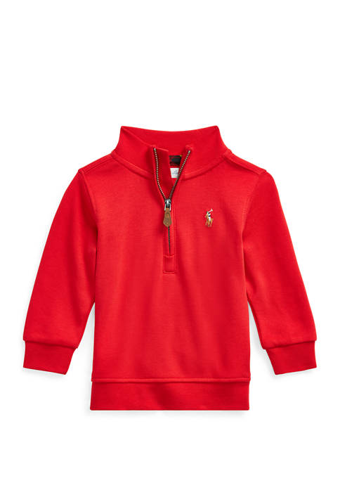 Baby Boys Cotton Interlock Pullover