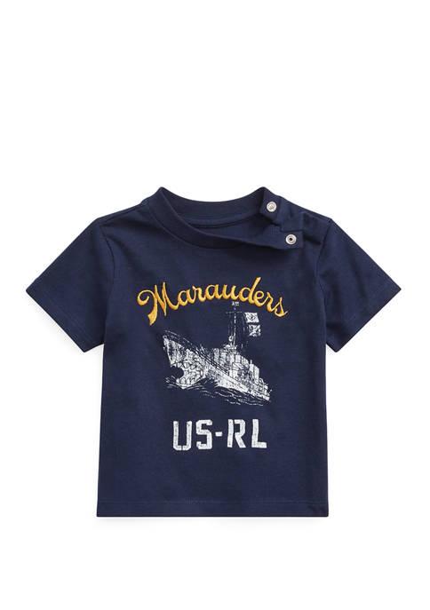 Ralph Lauren Childrenswear Baby Boys Cotton Jersey Graphic