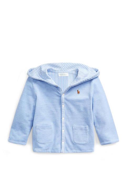 Ralph Lauren Childrenswear Baby Boys Reversible Knit Jacket