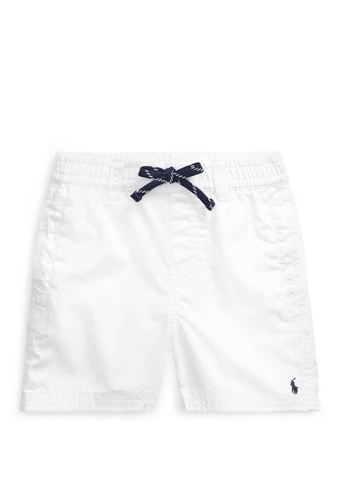 Ralph Lauren Childrenswear Baby Boys Cotton Twill Short