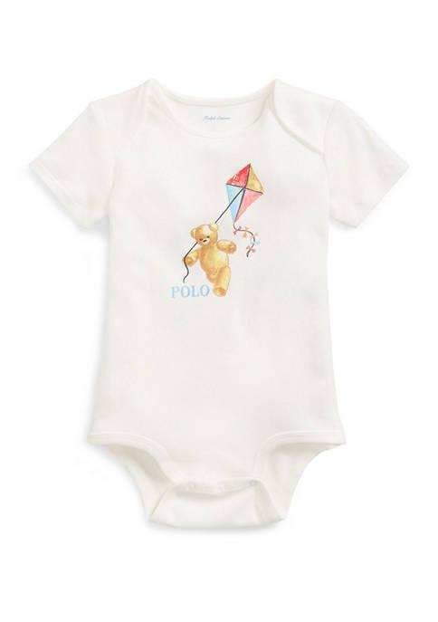 Ralph Lauren Childrenswear Baby Boys Kite Bear Cotton