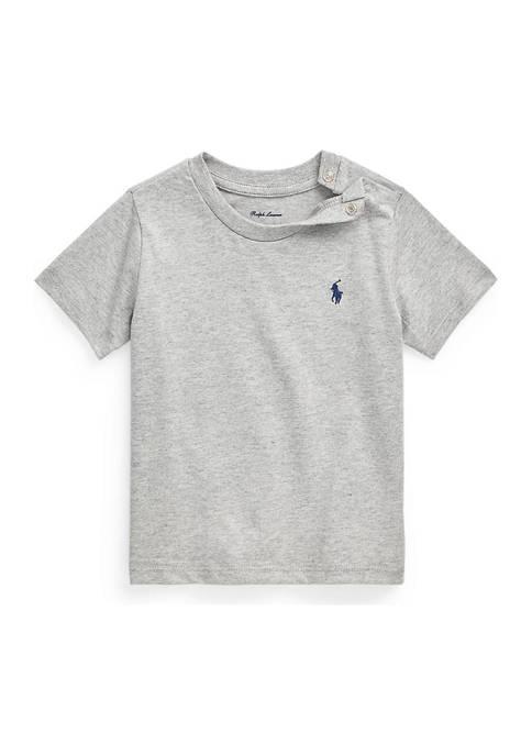 Ralph Lauren Childrenswear Baby Boys Cotton Jersey Crew