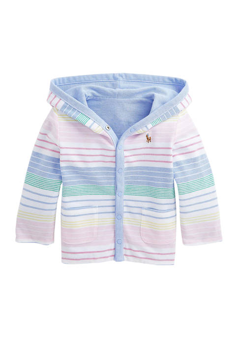 Ralph Lauren Childrenswear Baby Boys Reversible Mesh Hooded